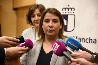 La consejera de Fomento, Agustina García