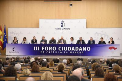 Las entidades, colectivos e instituciones valoran los avances en los compromisos y el diálogo del Gobierno regional