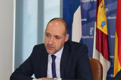 El delegado de la Junta en Talavera de la Reina, David Gómez Arroyo