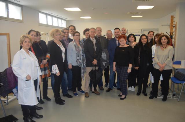 Un grupo de gestores de centros sanitarios polacos conoce en Talavera y Toledo el funcionamiento de la sanidad pública regional