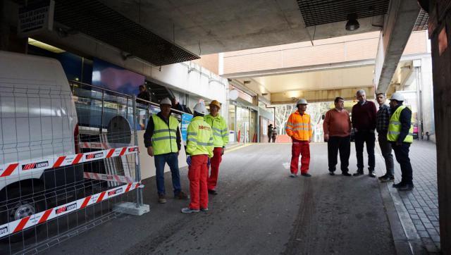 Comienzan las obras de reforma del servicio de Urgencias del Hospital Virgen de la Salud de Toledo