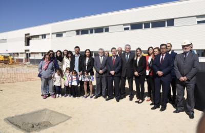 Page anuncia la aprobación de otras 21 obras del Plan de Infraestructuras Educativas