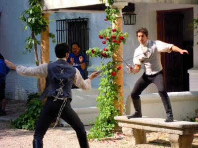 Toledo acoge durante varios días el rodaje de la serie 'Bolívar: una lucha admirable' en la Finca Lavaderos de Rojas