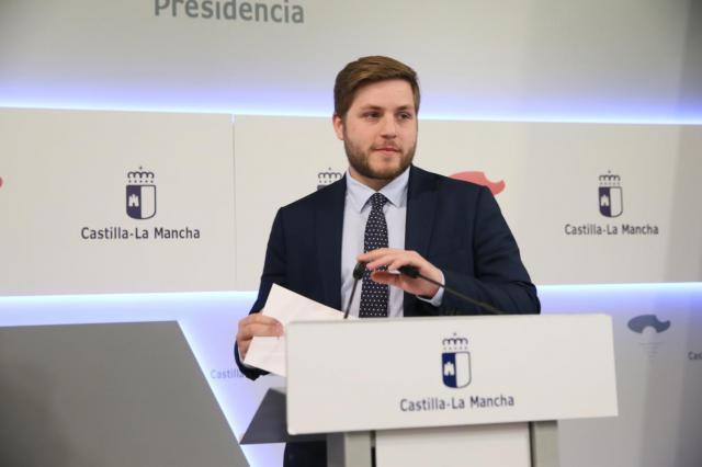 El portavoz del Gobierno regional, Nacho Hernando