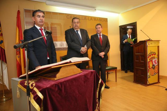 Manuel González Ramos toma posesión como Delegado del Gobierno en Castilla-La Mancha