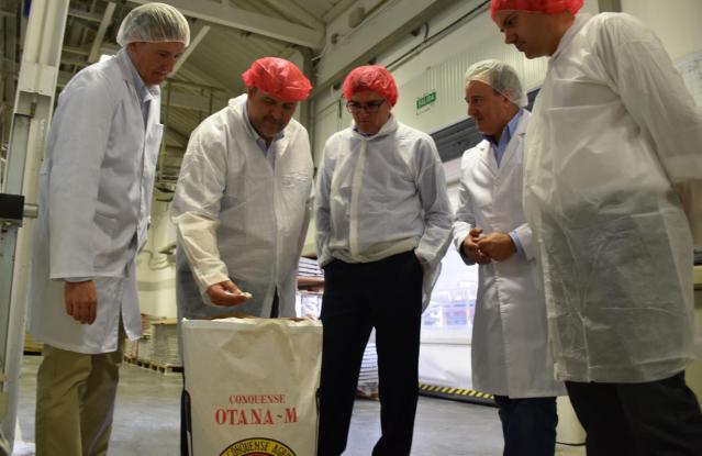 La Junta destinará en esta legislatura 170 millones de euros a la modernización del sector agroalimentario