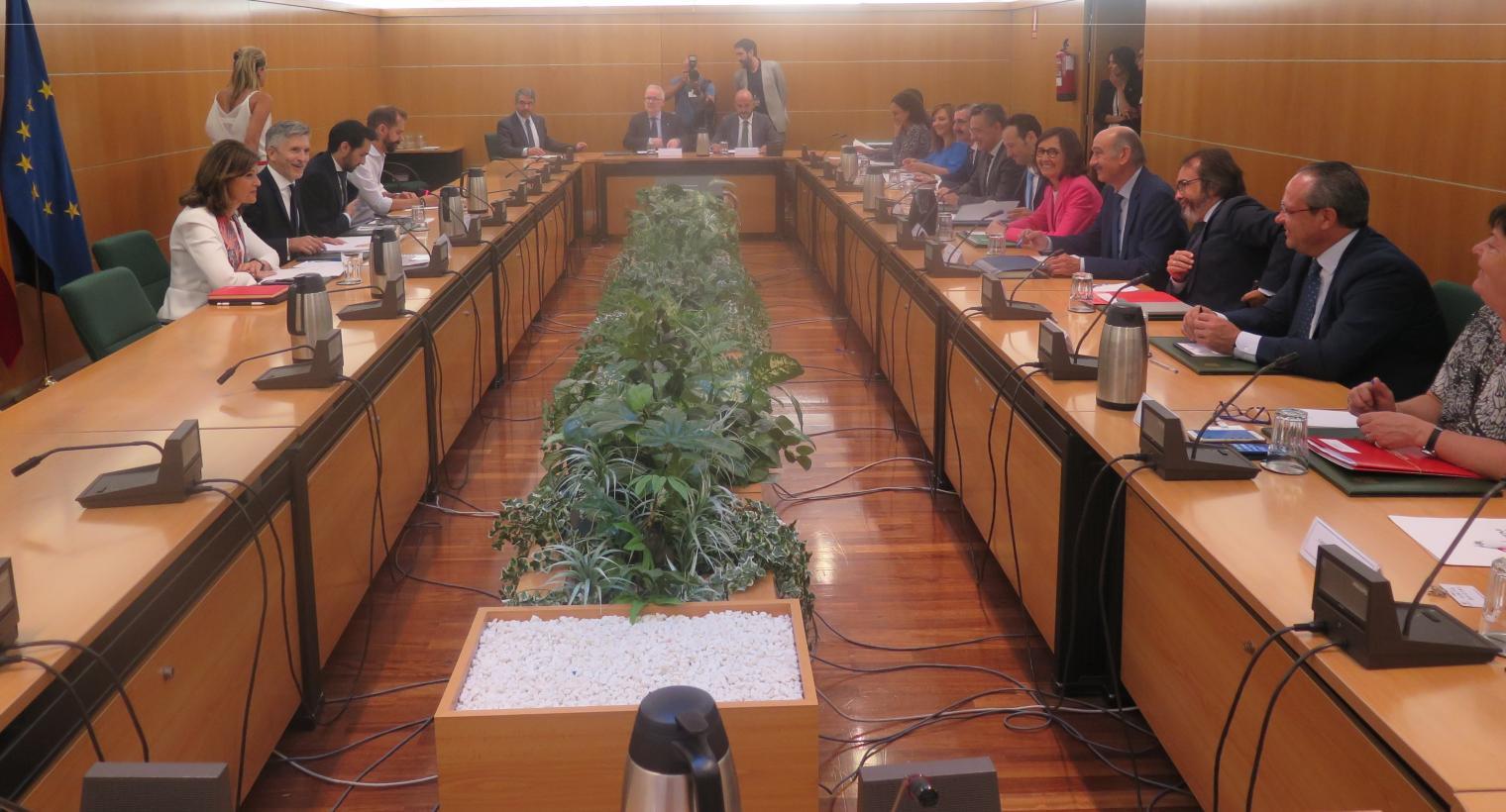 Clm se coordina con el ministerio del interior en la for Gobierno de espana ministerio del interior