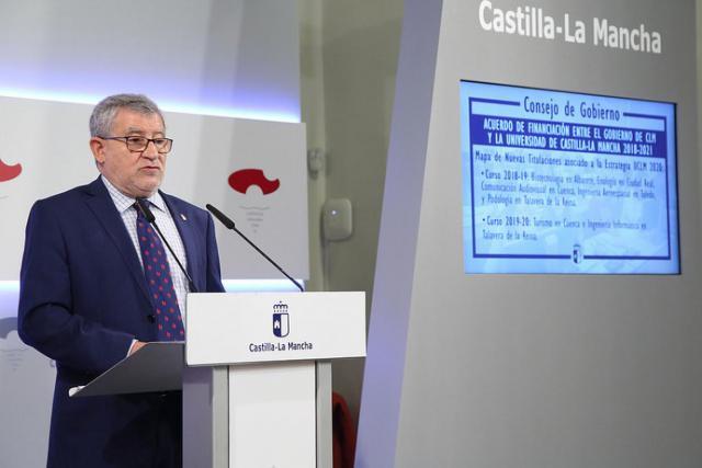 Aprobado el acuerdo de financiación de la UCLM que incluye Informática para Talavera