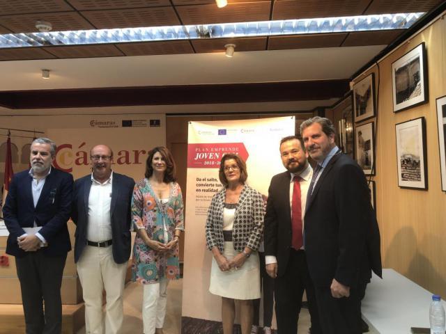 La Cámara de Comercio y FEDETO ponen en marcha el 'III Plan Emprende Joven CLM'
