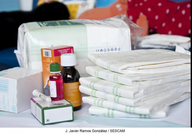 SESCAM hace efectiva la gratuidad de medicamentos y absorbentes de incontinencia para menores con discapacidad