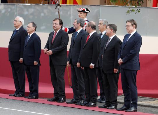 """Page reafirma su apoyo a la figura del rey Felipe VI y a su """"buen hacer"""" ante el desafío independentista"""