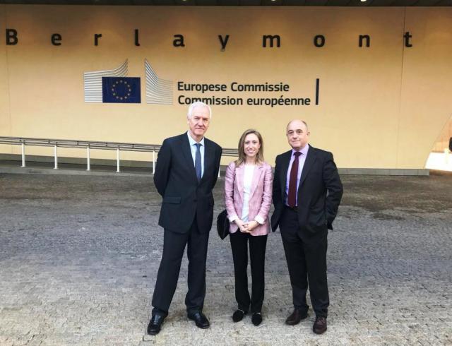 Castilla-La Mancha defiende en Brusleas la cohesión ante la Unión Europea