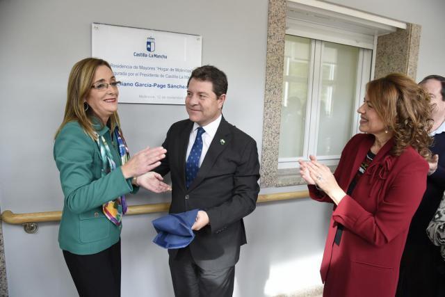 Page avanza 1.000 plazas residenciales para mayores para la próxima legislatura