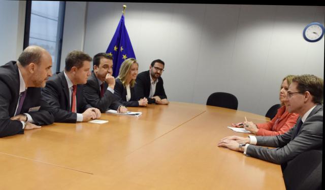 Castilla-La Mancha reclama a Europa recursos y fondos para luchar contra la despoblación