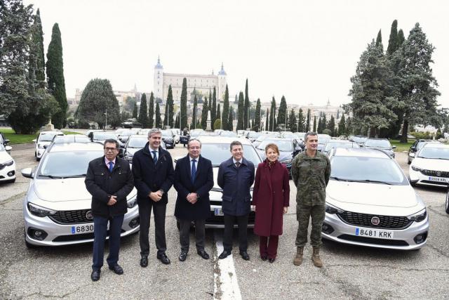 El Gobierno regional invierte 2,2 millones en la adquisición de 141 vehículos eficientes