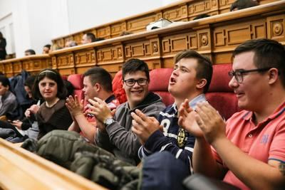 Pleno especial en las Cortes de CLM con motivo del Día Internacional de las Personas con Discapacidad