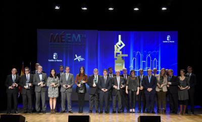 15 empresas galardonadas en los III Premios al Mérito Empresarial CLM
