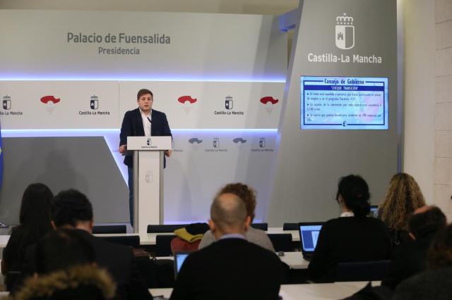 El Gobierno de Castilla-La Mancha hace balance del año