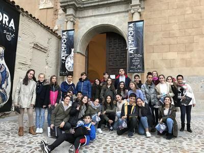 El alumnado del IES Gabriel Alonso Herrera promociona en Europa 'aTempora. Talavera' a través del programa EUthApp