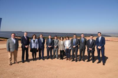 Inaugurada en El Carpio de Tajo la mayor planta fotovoltaica de la provincia de Toledo