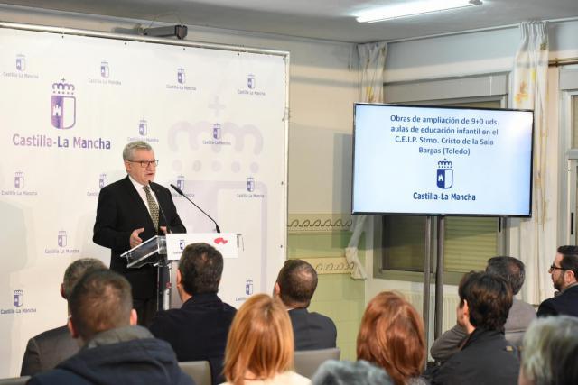 La mitad de las actuaciones del nuevo Plan de Infraestructuras Educativas serán en la provincia de Toledo