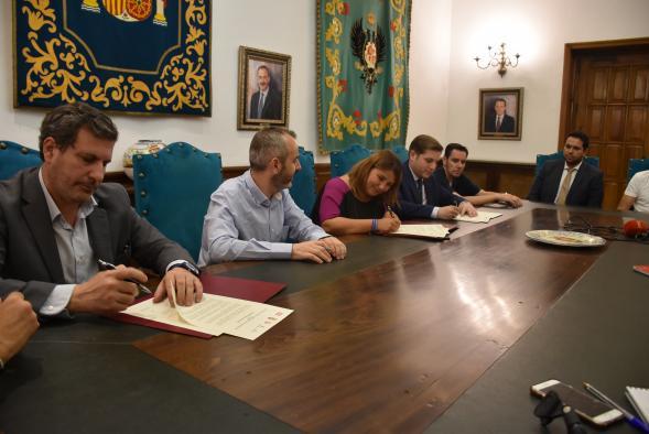 Ratificado en Talavera el Pacto por el Ferrocarril