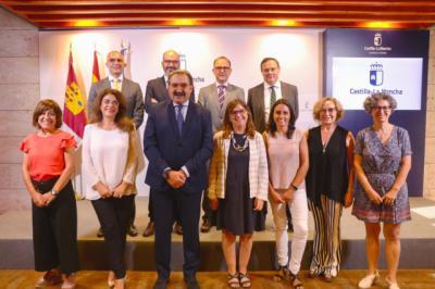 Juan Camacho y Susana Fernández, del Hospital de Talavera, directores generales de Sanidad CLM