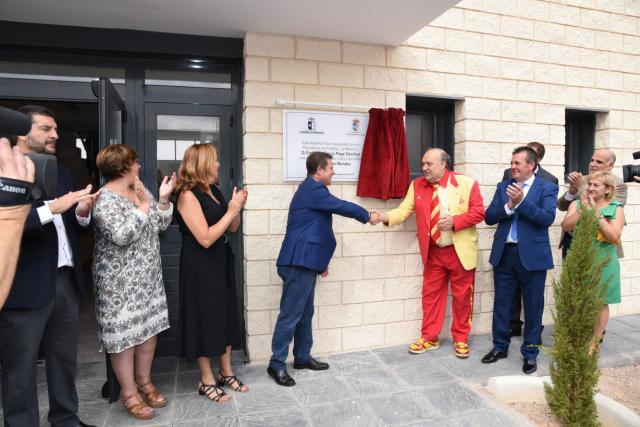 Inauguración del nuevo pabellón polideportivo 'Manolo el del Bombo'