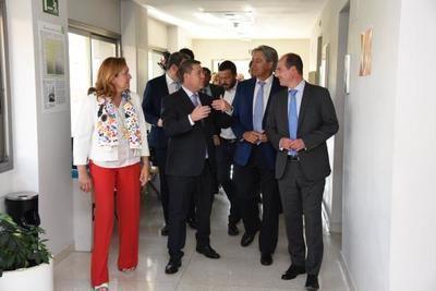 Reunión para planificar la construcción del nuevo Campus de la Universidad de Alcalá en Guadalajara