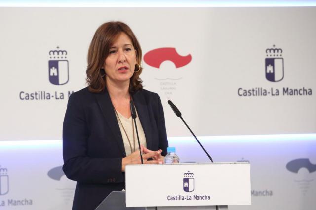 La portavoz del Ejecutivo autonómico, Blanca Fernández
