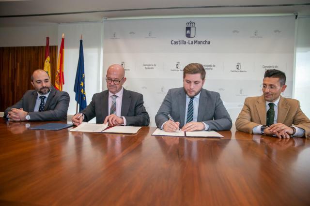 El Gobierno regional amplía el suelo industrial en Mora a través de un novedoso convenio