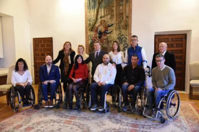 Castilla-La Mancha financia las sillas de ruedas del equipo 'Carpetanos Quad Rugby' de Toledo