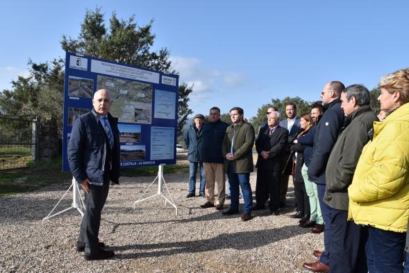 Nuevo paso en la ejecución del Plan Extraordinario de Actuaciones de la Sierra de San Vicente