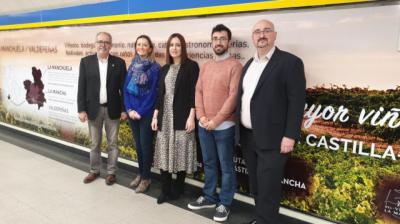 CLM promociona las Rutas del Vino regionales en la Puerta del Sol de Madrid