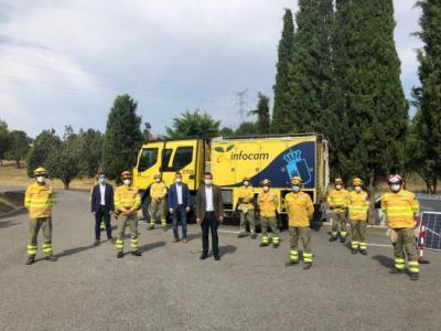 CLM   3.000 personas y 43 medios componen la campaña contra incendios