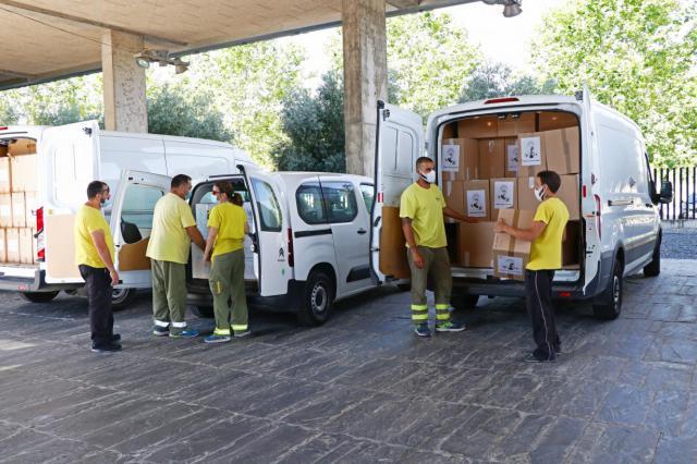 SANIDAD | Nuevo envío de material sanitario