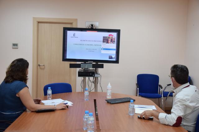 CLM | Nuevas vías de colaboración entre COACM y la Consejería de Economía de la JCCM