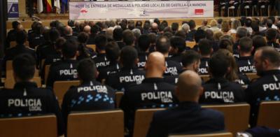 CLM | 96 policías locales de Castilla-La Mancha galardonados por su trabajo