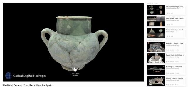 REGIÓN | El patrimonio cultural de CLM en 3D sigue destacando a nivel mundial