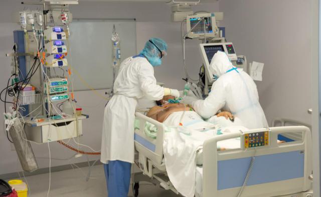 CORONAVIRUS   Disminuye el número de hospitalizados, tanto en cama convencional como en UCI