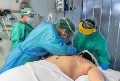 COVID-19 | Descienden los hospitalizados en Castilla-La Mancha