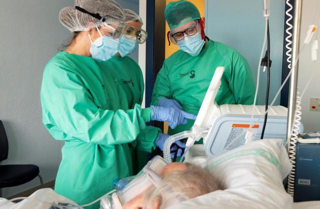 COVID-19 | Los hospitalizados siguen subiendo en Talavera y Toledo
