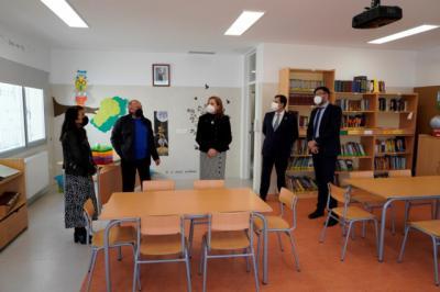 SAN ROMÁN DE LOS MONTES | Inauguran la ampliación del CEIP 'Nuestra Señora del Camino'