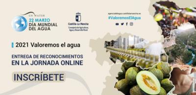 EVENTO VIRTUAL | 'Valoremos el agua', el lema del Día Mundial del Agua en CLM