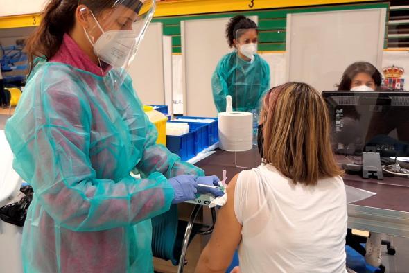 COVID-19   Castilla-La Mancha adelanta su plan de vacunación