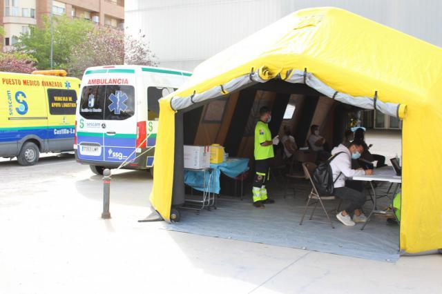 Unidad Móvil de Vacunación en Albacete