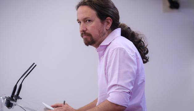 El secretario general de Podemos Pablo Iglesias | Archivo | Europa Press