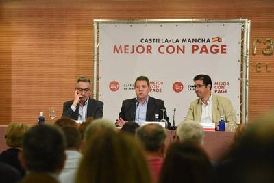 García-Page confía en terminar la próxima legislatura con 3.000 empresas más