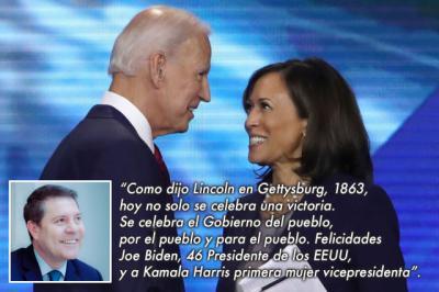 ESTADOS UNIDOS | Page felicita a Biden y Harris por su elección