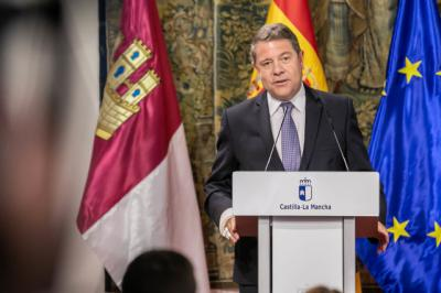 García-Page agradece al Gobierno de España el giro dado en los Planes Hidrológicos